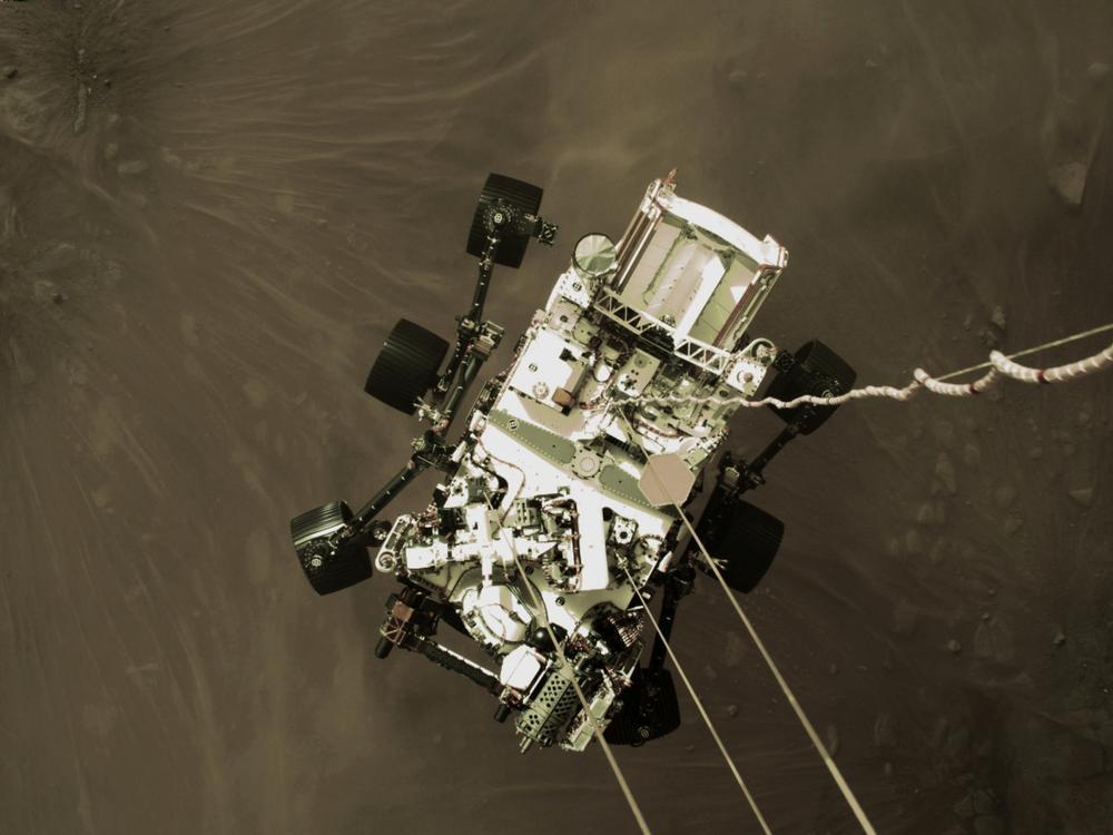 Perseverance envía las primeras imágenes en color de Marte