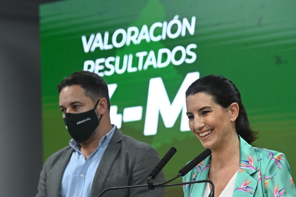 Vox se abre a formar parte del Gobierno de Madrid