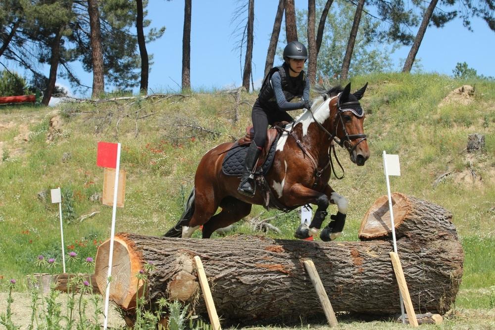 En ponis, el Completo y el salto han servido como ensayo para muchos participantes cara al campeonato de España.