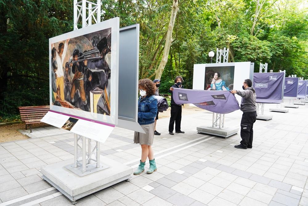 'El Museo del Prado en las calles'