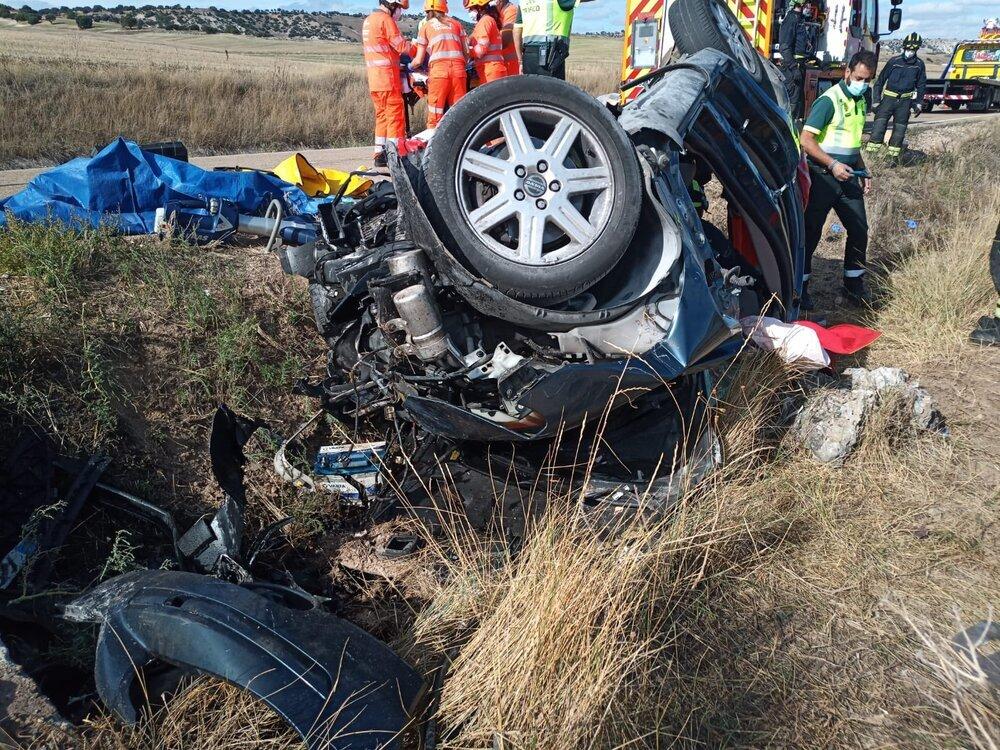 Muere un joven en un accidente en Villanueva de los Infantes