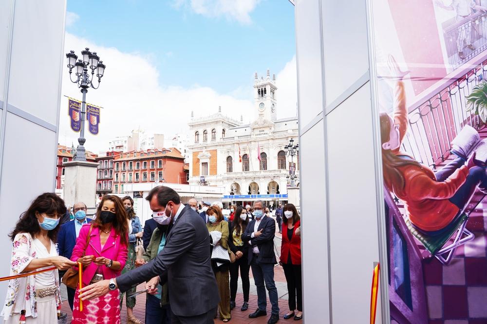 Inauguración de la 54 Feria del Libro de Valladolid