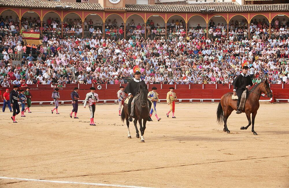 La corrida del Corpus es la que atrae más público al Coso de Mendigorría.