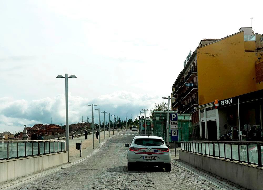 Avenida Padre Claret.