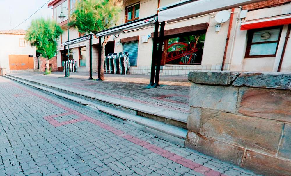 Imagen de la esquina del paseo de La Cascajera donde se produjo el trágico desenlace.