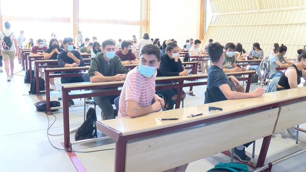 450 alumnos se enfrentan a la EBAU en Soria