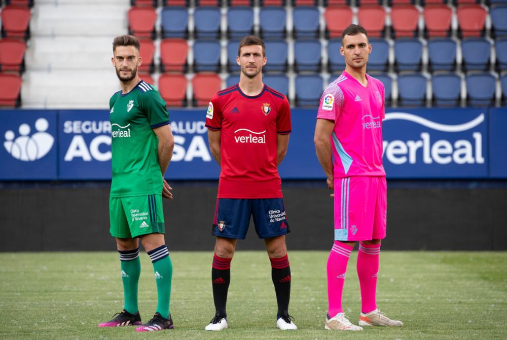 Osasuna completa su equipación para la próxima temporada