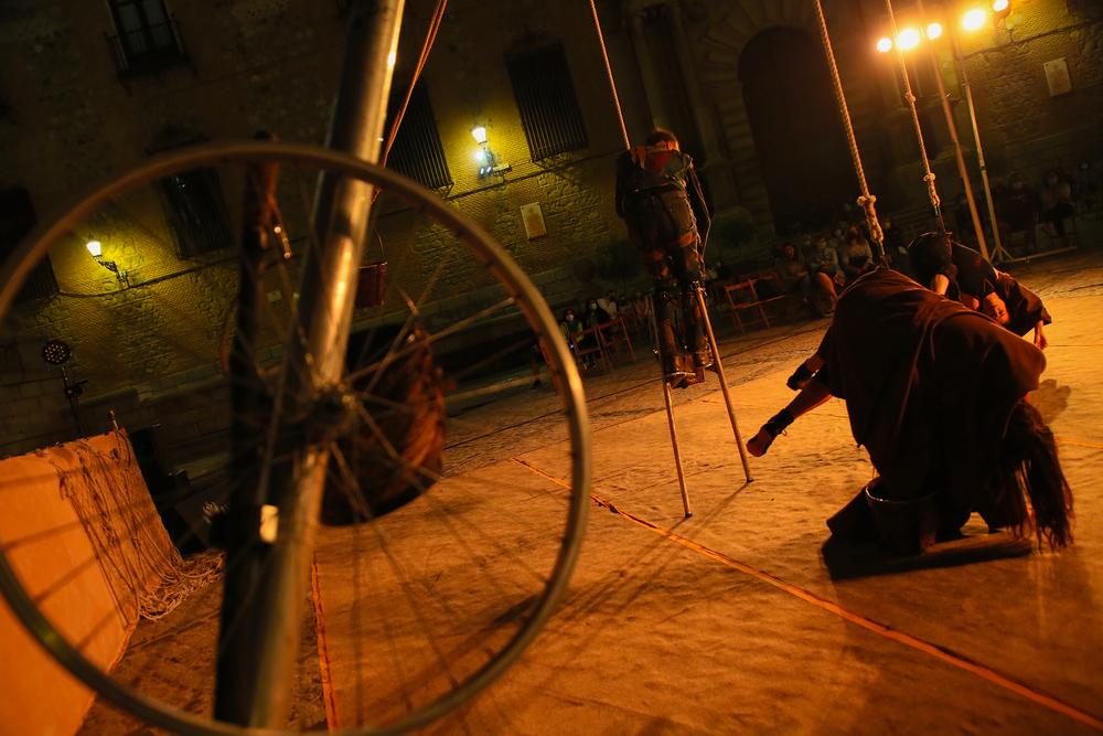 Teatro y el circo salen a la calle en 'Toledo, escena viva'