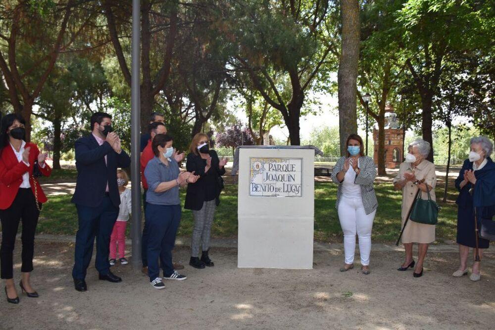 Talavera regala un parque junto al Tajo a Benito de Lucas