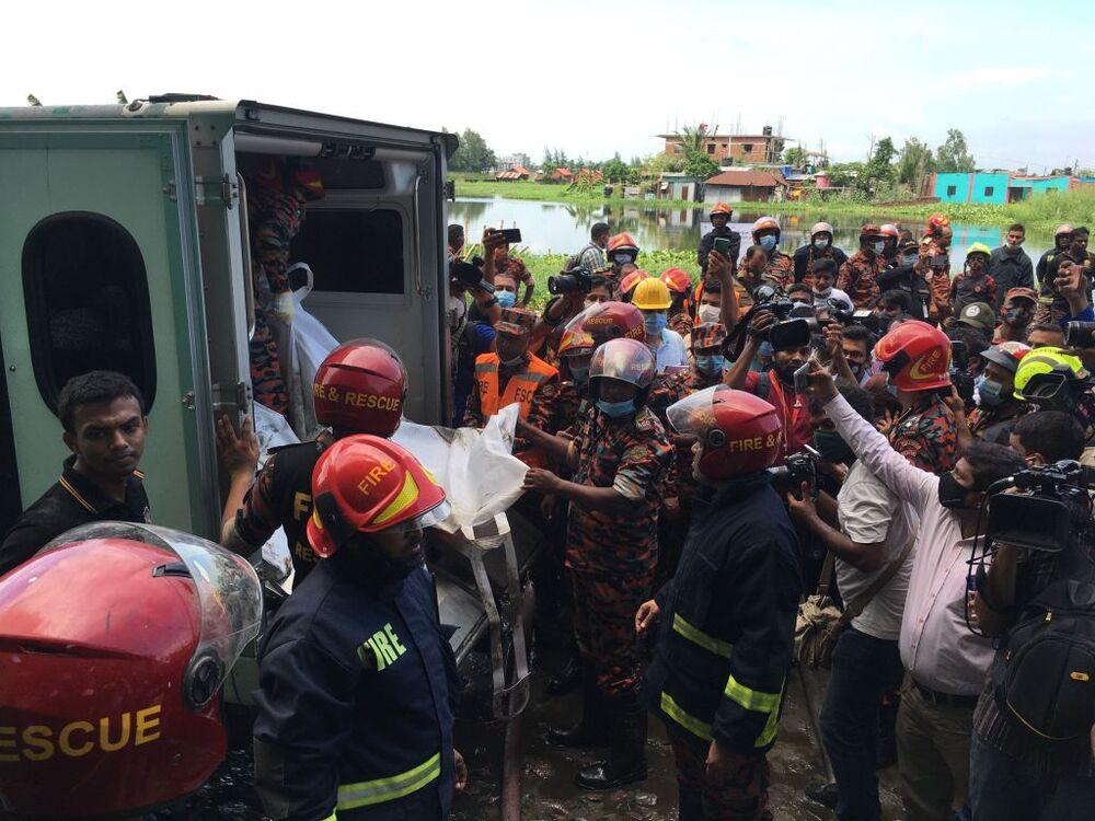 At least 43 dead in factory fire outside Dhaka