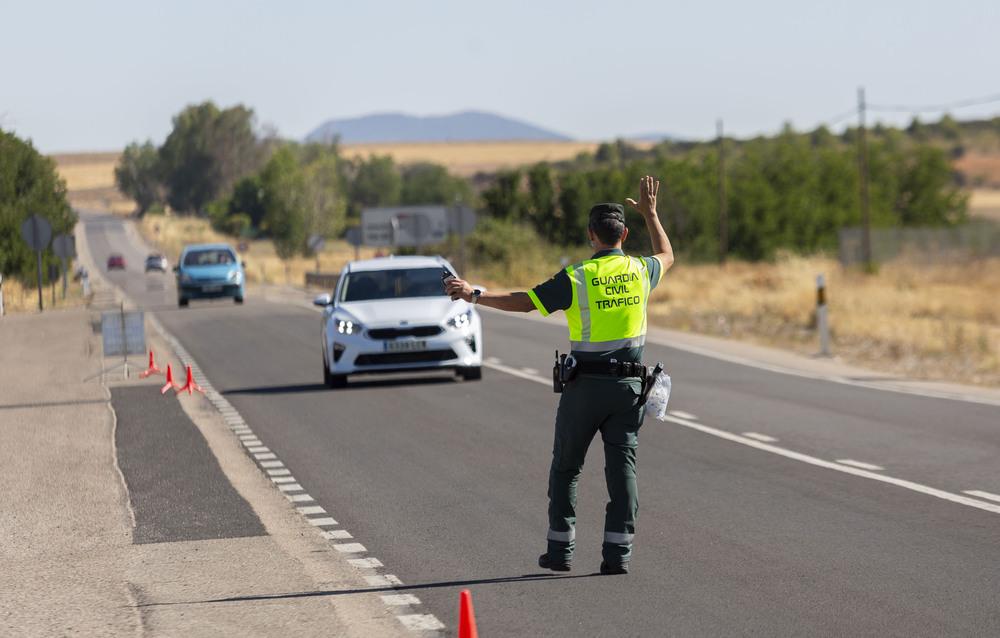 La Guardia Civil activa una campaña de control de velocidad