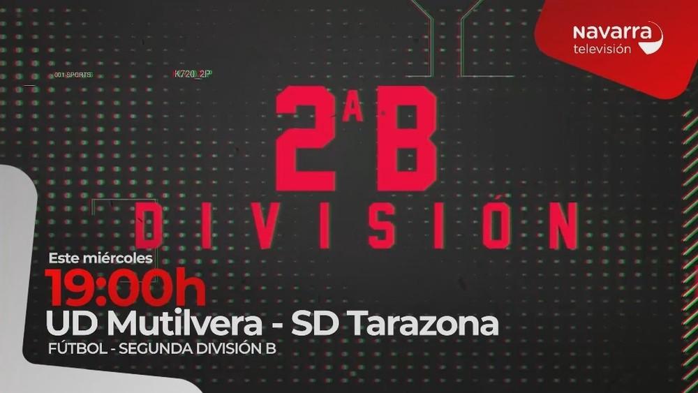 Mutilvera- Tarazona, en directo, en Navarra Televisión