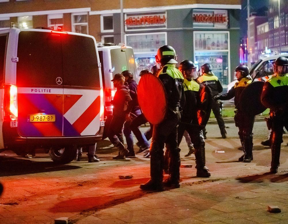 Riots in Rotterdam