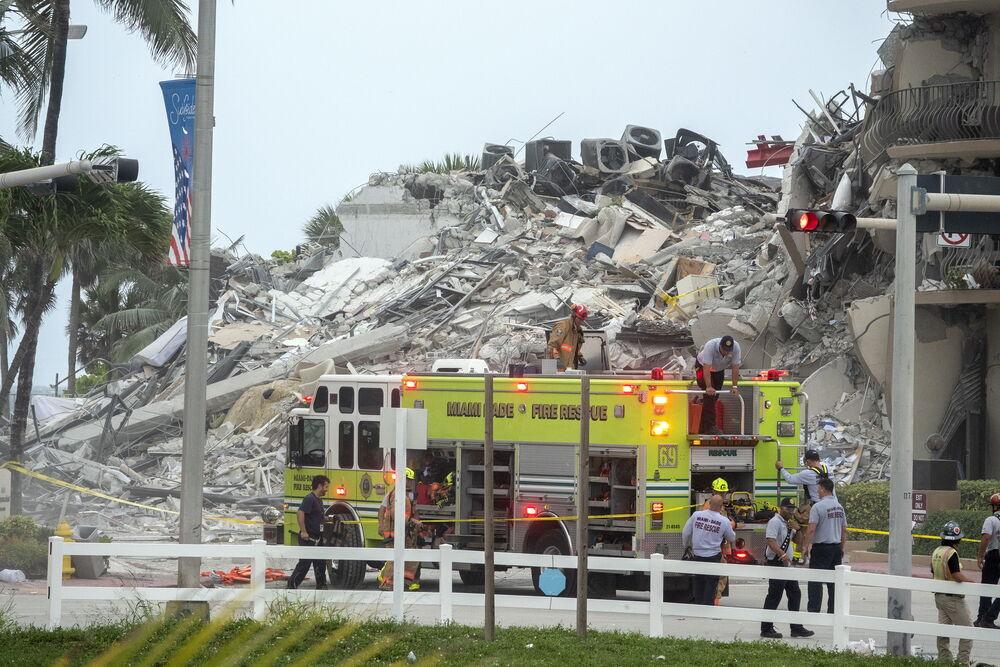 El derrumbe parcial en Miami Beach deja 51 desaparecidos