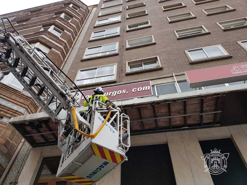 Los hechos han ocurrido en un edificio de la céntrica calle Ana Lopidana.