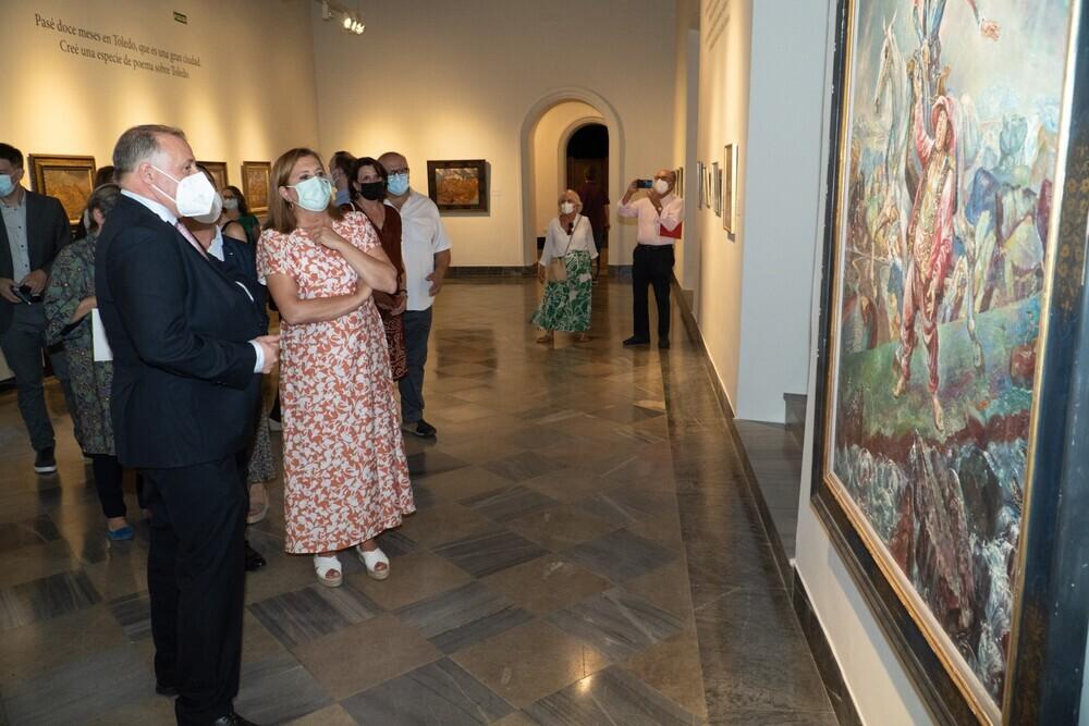Marian Kratochwil expone 80 de sus obras en el Santa Cruz