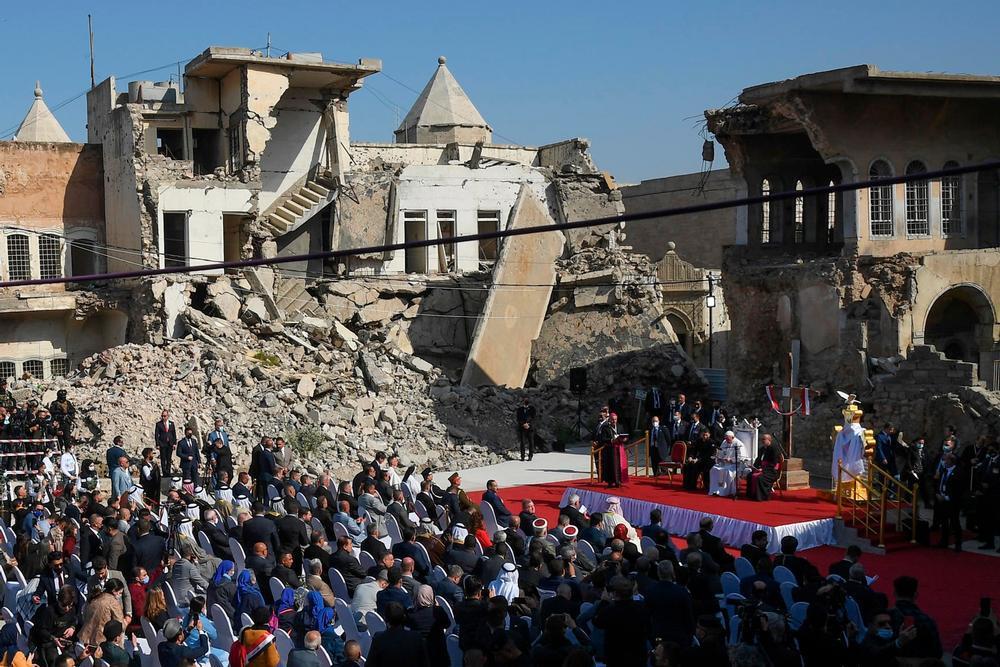 El Papa reza por las víctimas de la guerra en Mosul