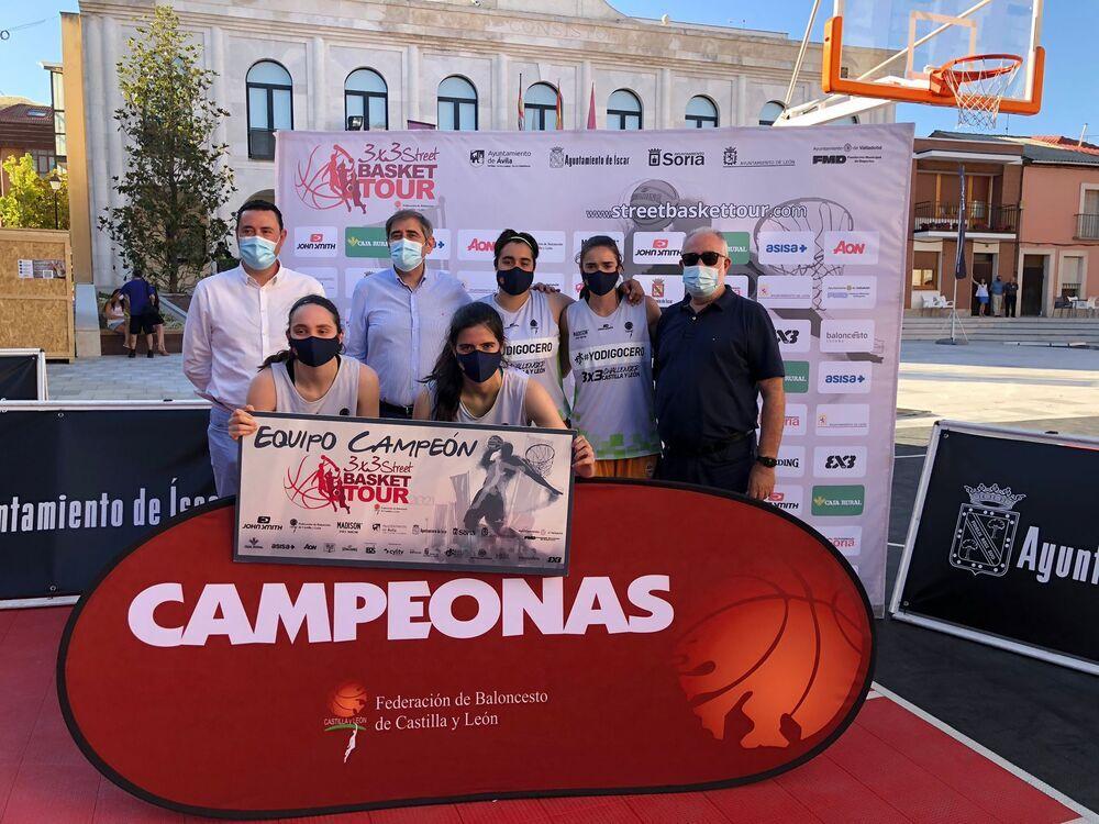 Valencia Basket, ganadoras en Íscar