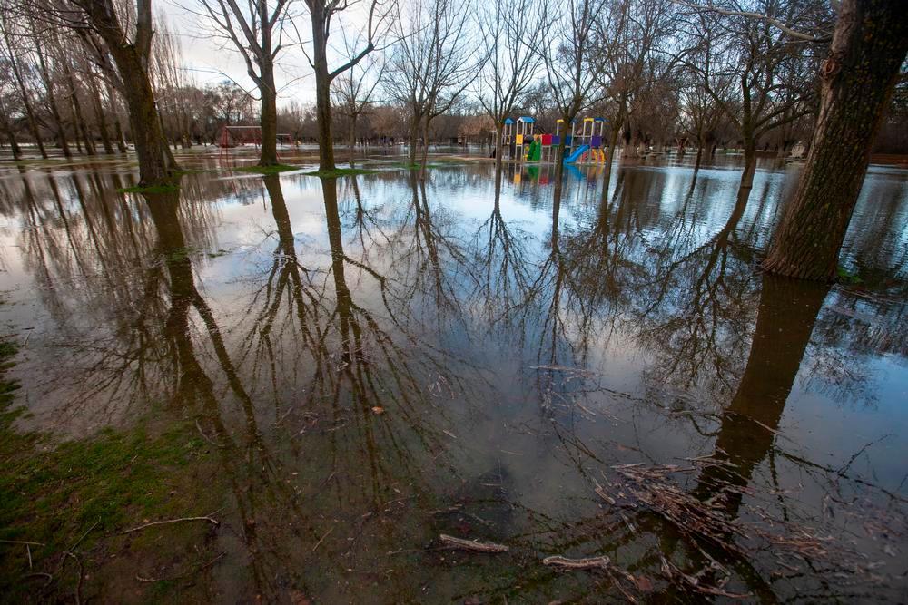Cortados los accesos a El Soto por inundaciones