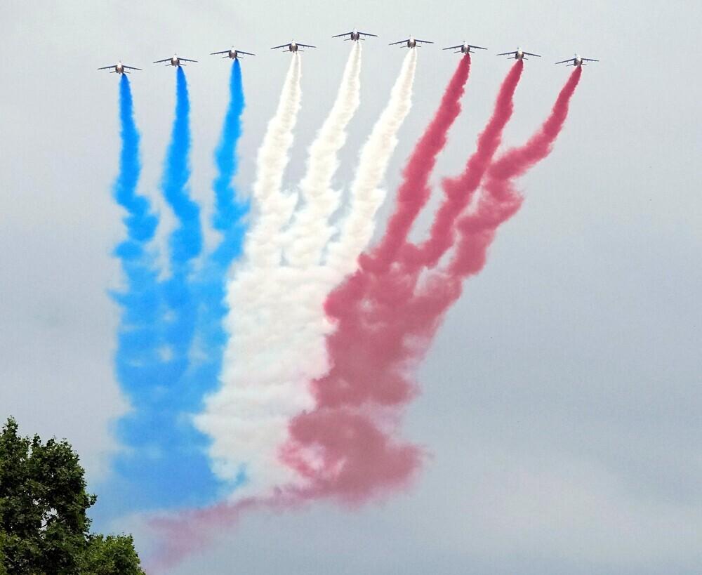 Francia recupera los clásicos de su Fiesta Nacional