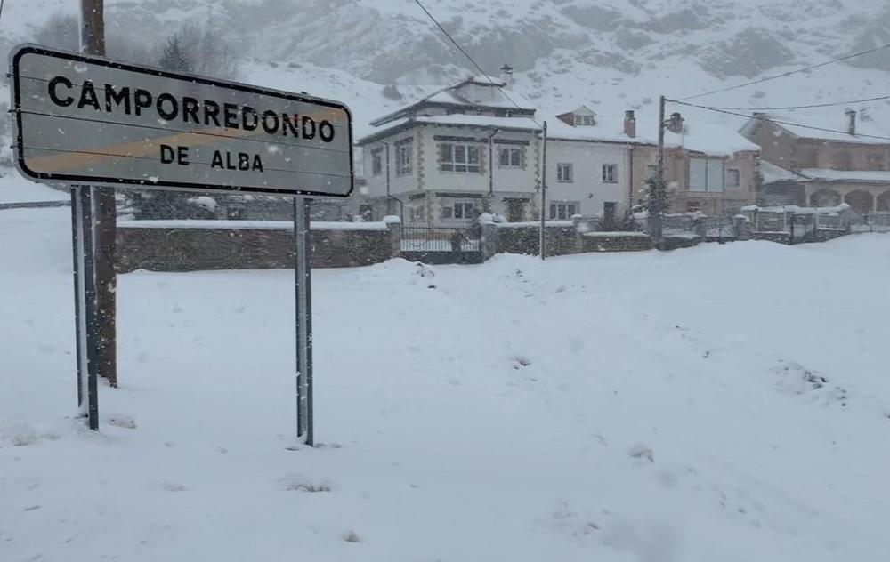 La Nieve Se Centra En Los Pueblos De Montaña Todas Las Noticias De Palencia