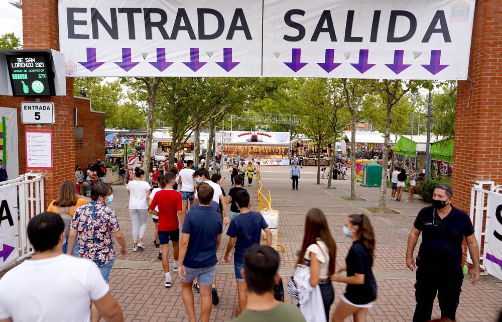 Real de la Feria en las fiestas de Nuestra Señora de San Lorenzo