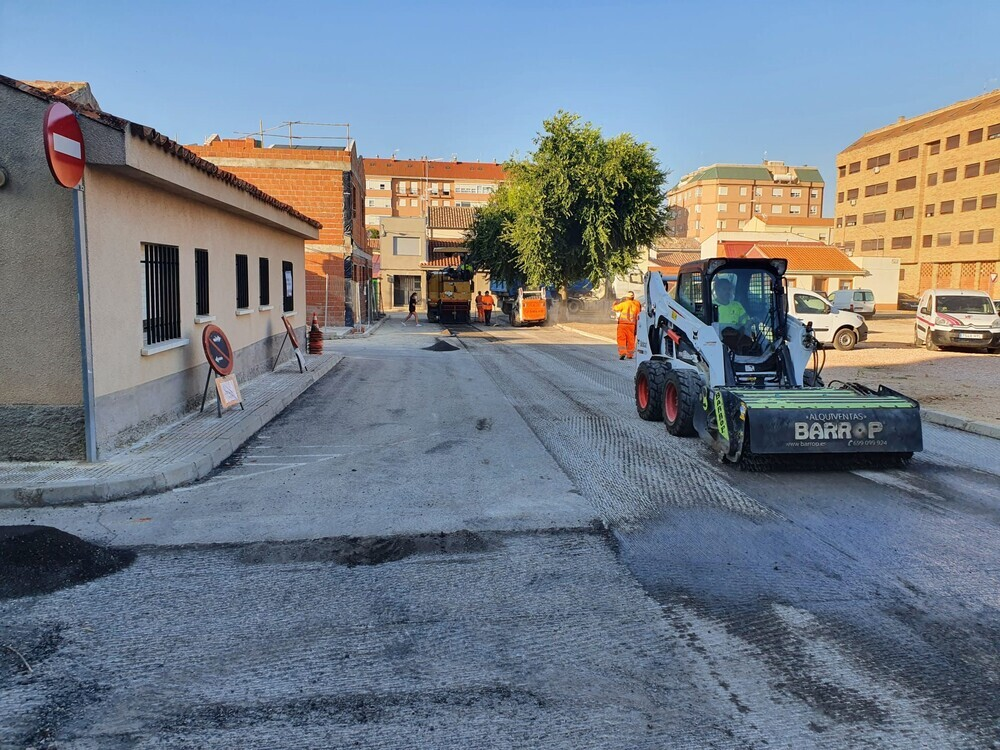 Comienza el asfaltado y acerado del Parque Ferial y El Congo