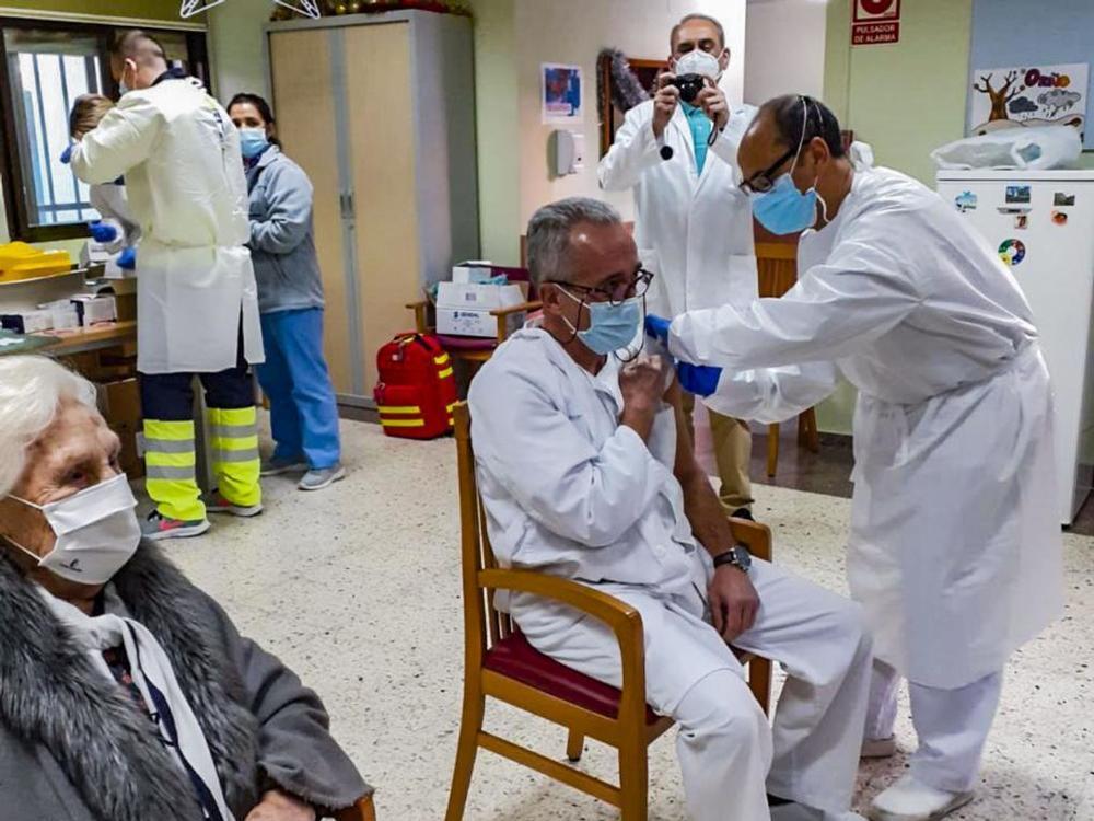 El ritmo de vacunación en Ciudad Real
