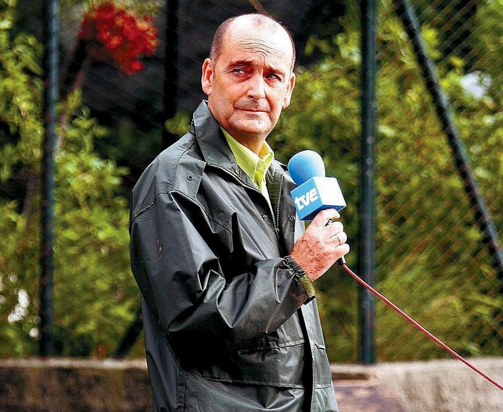 Vicente Botín, excorresponsal burgalés en Cuba.