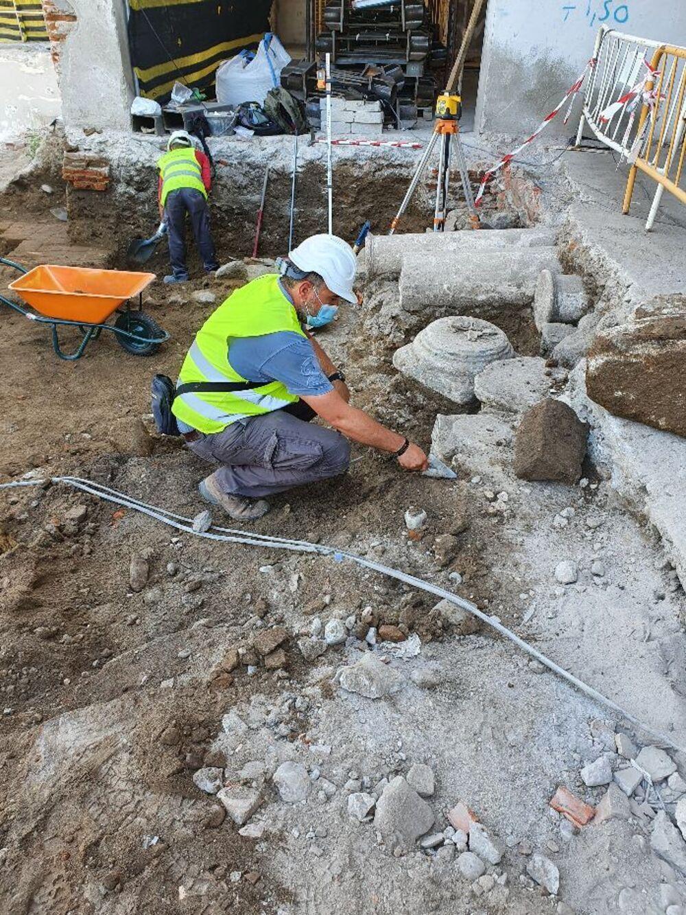 La obra de Arco de San Pedro plantea reintegrar estructuras