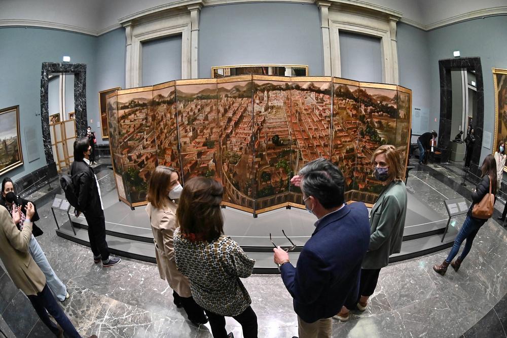 El museo del prado, a la conquista de México
