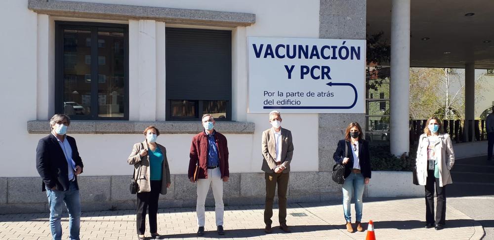 500 personas de alto riesgo se vacunan también esta semana | Noticias Diario de Ávila