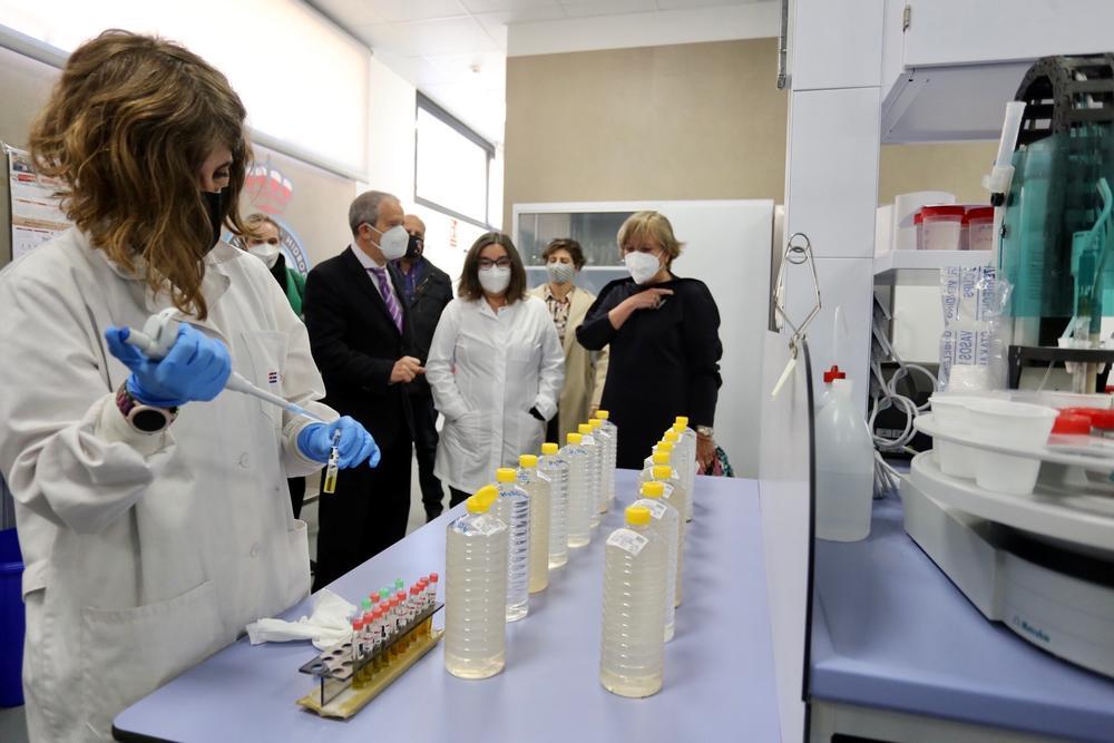 Nuevas instalaciones del Laboratorio de Aguas de la CHD