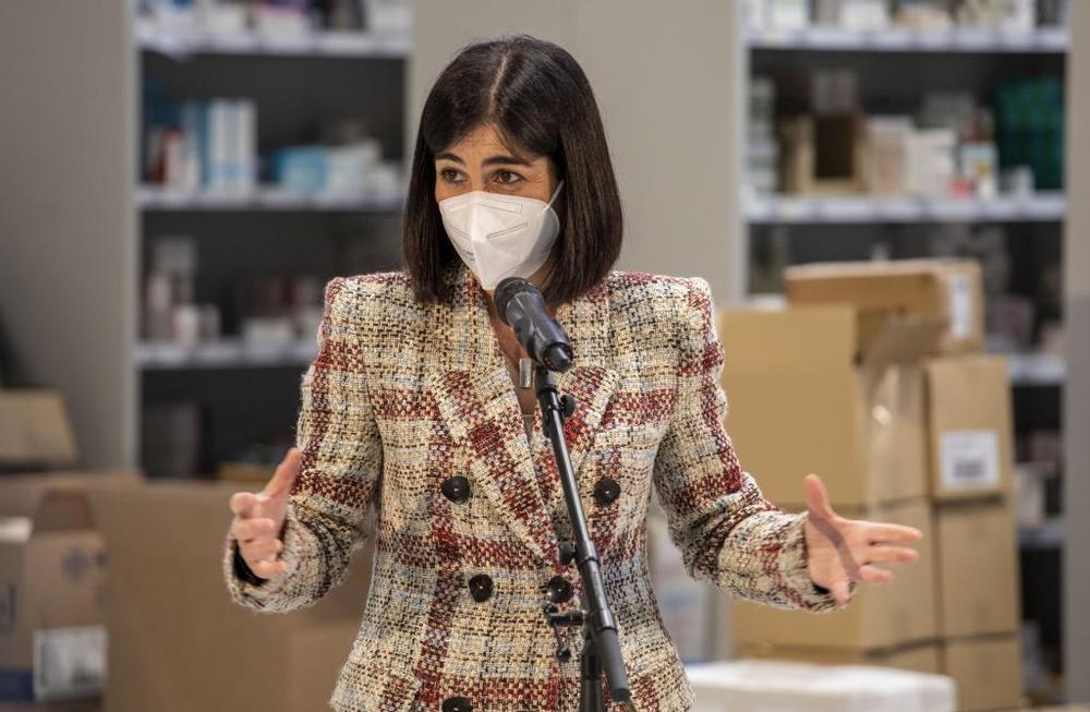 La ministra de Sanidad anuncia un acelerón en la vacunación