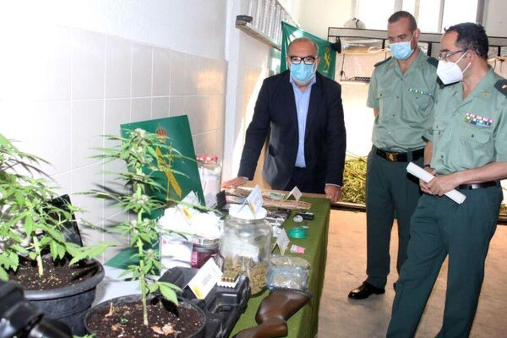 Detenida una banda que metía droga en la cárcel de Soria
