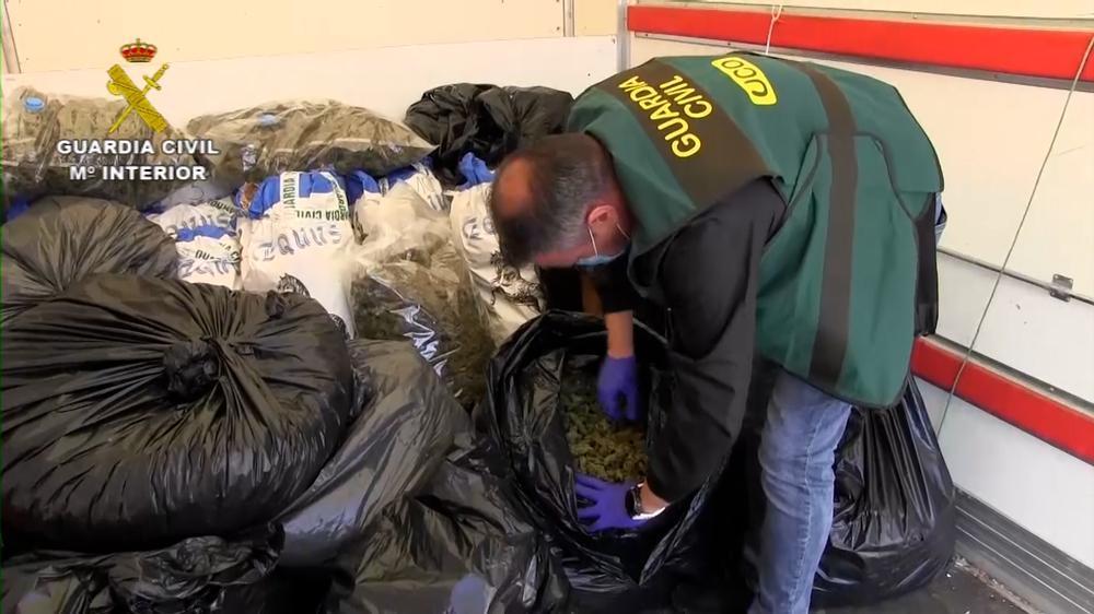 21 detenidos por blanquear dinero del narcotráfico