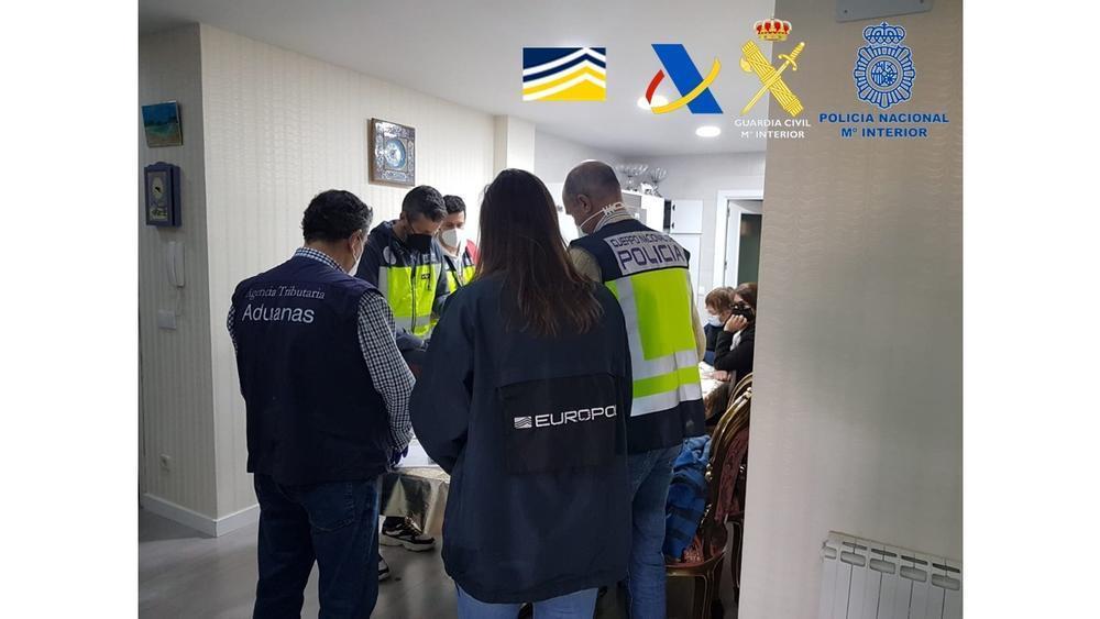 17 detenidos en una operación contra la venta de azafrán fra