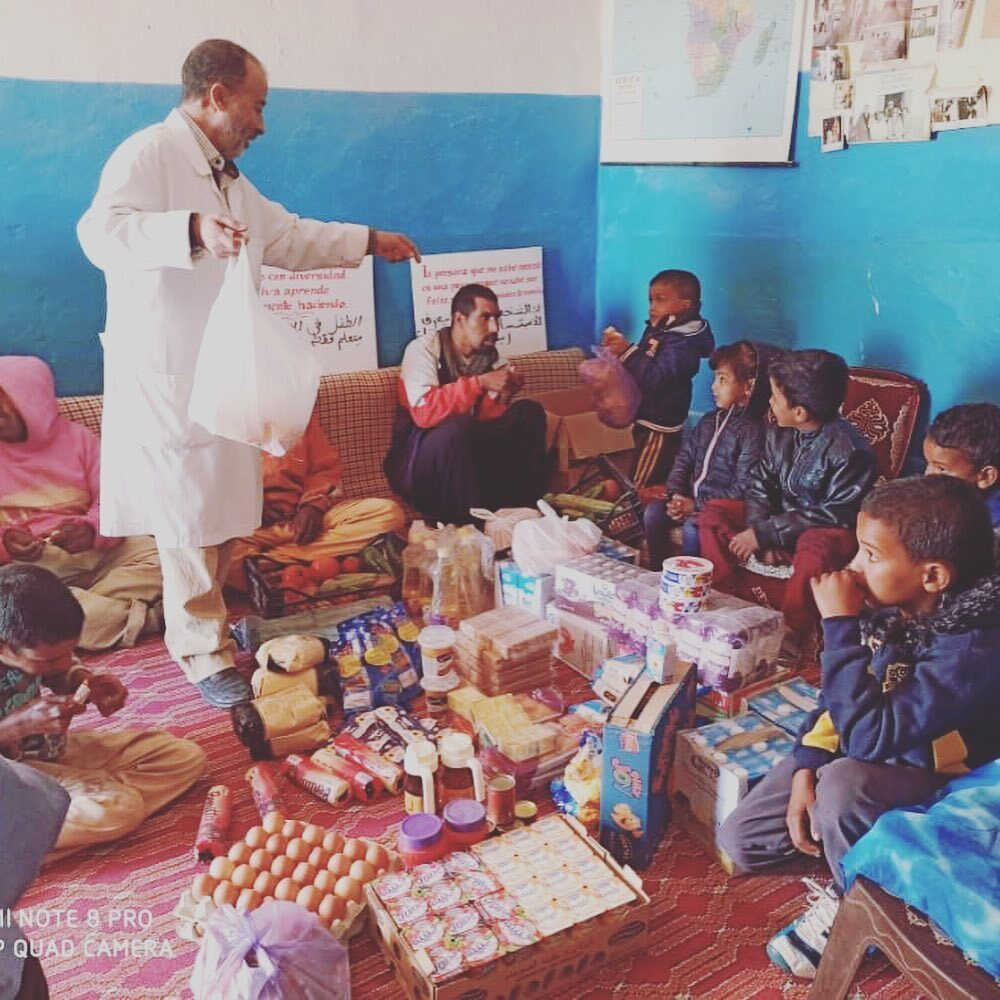 La pandemia impide la llegada de 50 niños saharuis