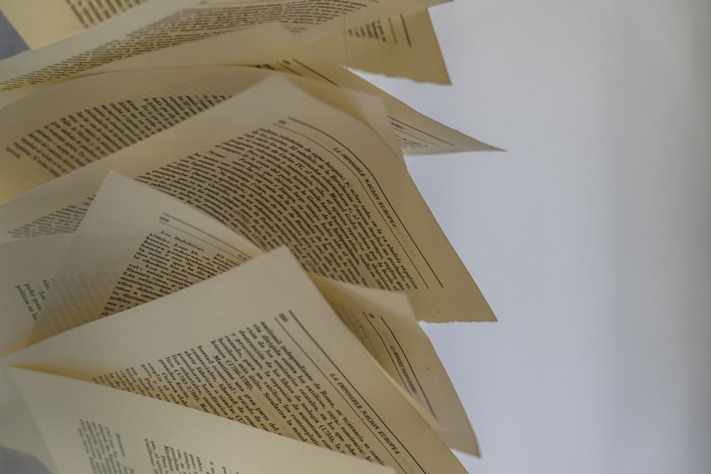 Exposición de Nani Ramis  y María Moreno; Como si fueran libros. Casa de la Lectura .