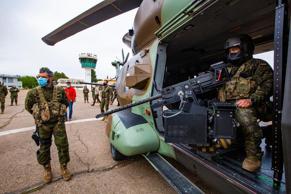 700 militares y 17 helicópteros en Almagro