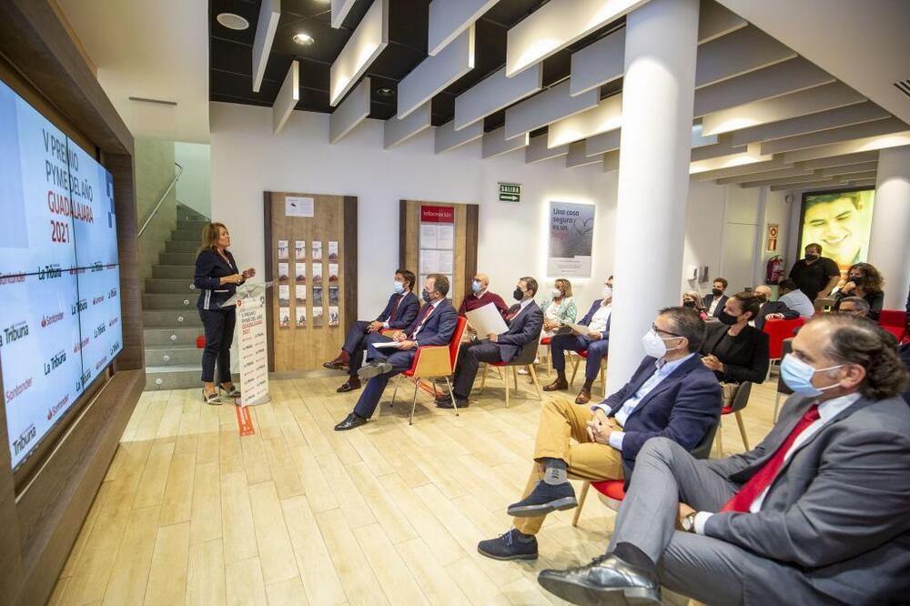 Premios PYME Guadalajara 2021, Santander y La Tribuna