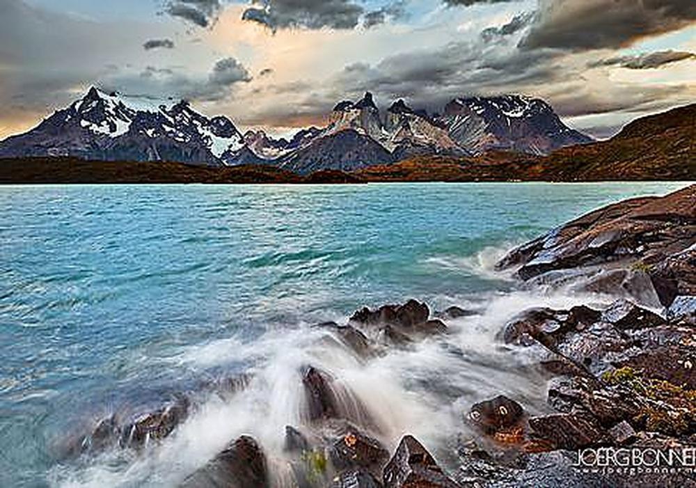 Estrecho de Magallanes, en el sur de Chile