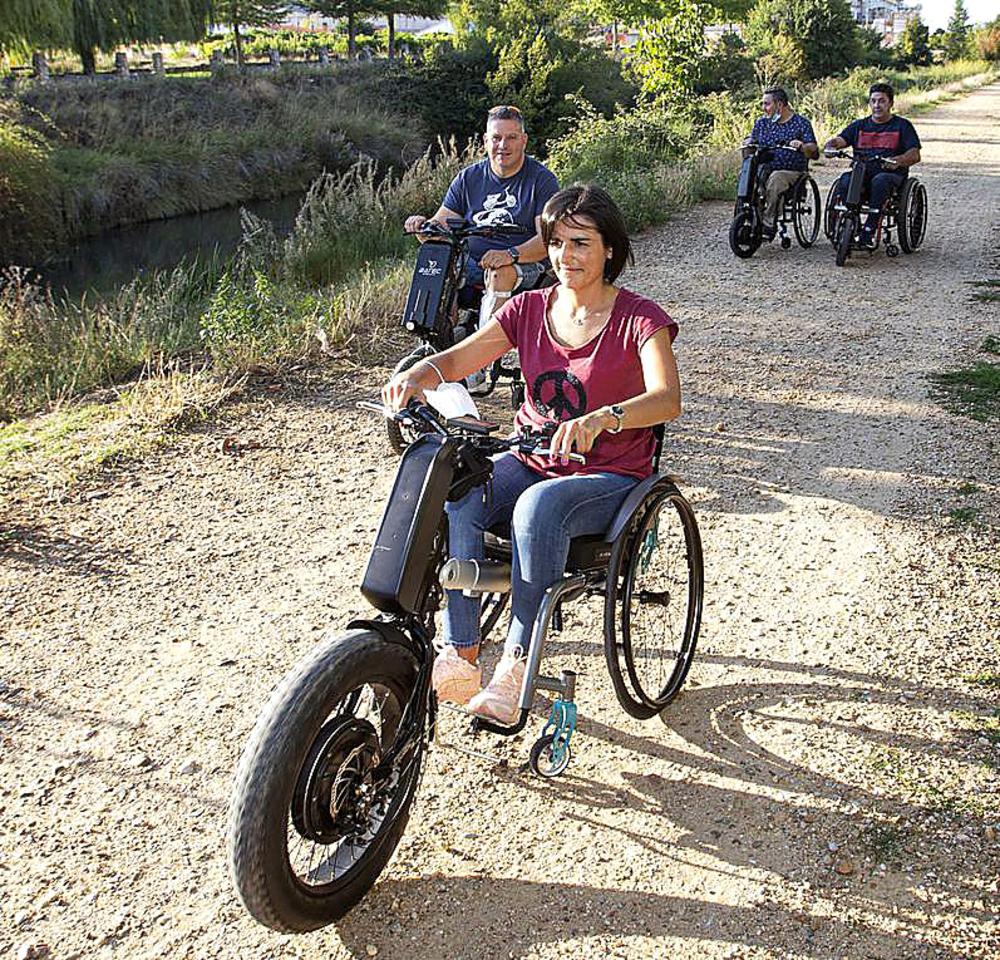 Turismo inclusivo junto al Canal de Castilla