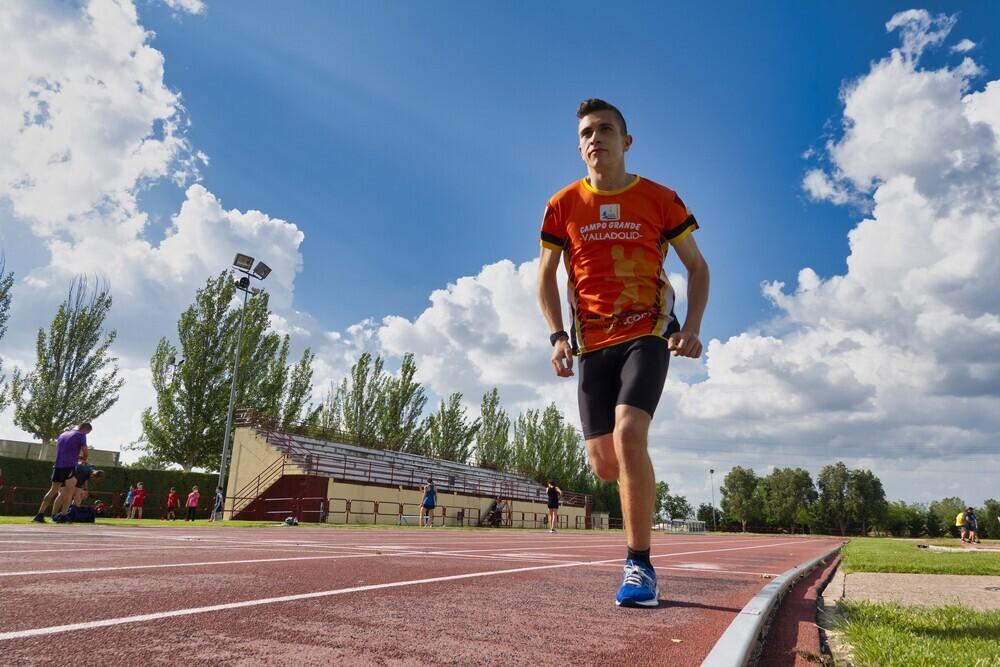 El vallisoletano Adrián Parras, alumno de San Juan de Dios y atleta del club Campo Grande de Valladolid