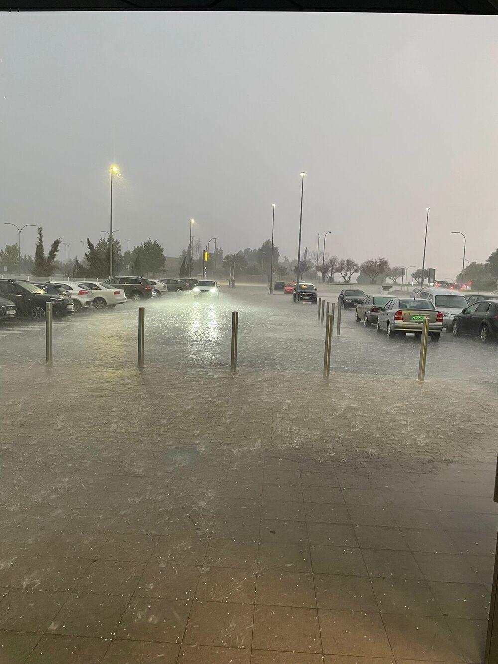 La granizada provoca nuevas balsas de agua en Toledo