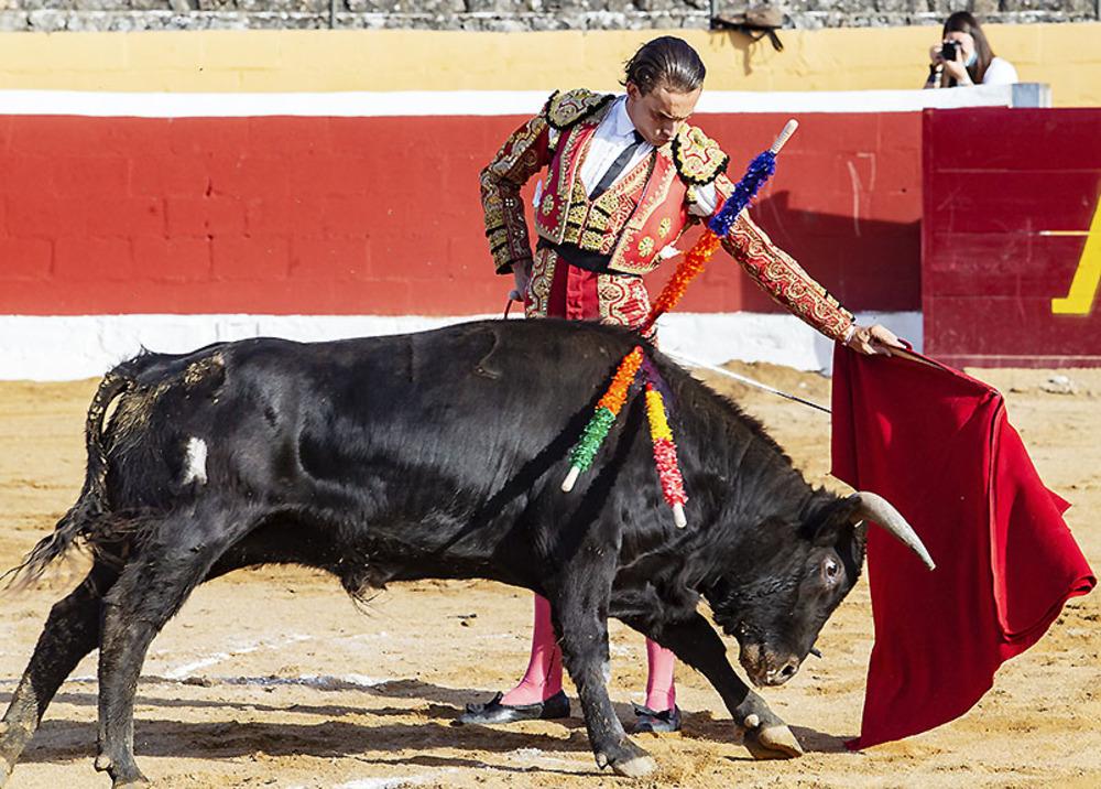 Josu de la Calzada y El Quitos salen a hombros en Ampudia