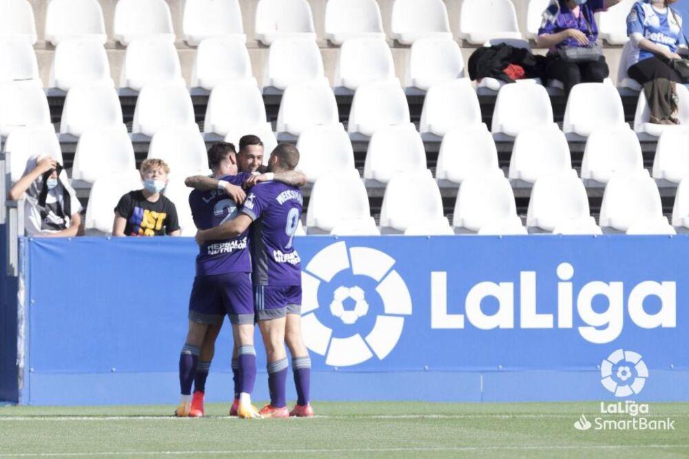 El Valladolid tira de eficacia para ganar en Leganés
