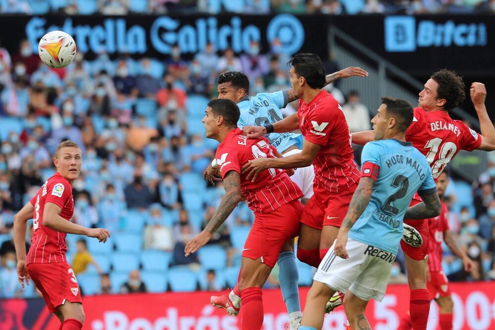 Rafa Mir certifica la victoria del Sevilla en Balaídos