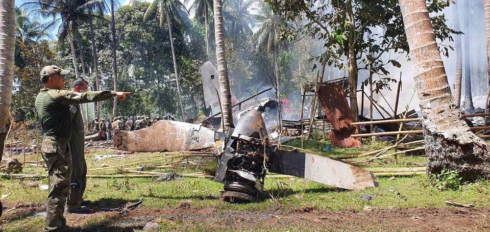 Al menos 50 muertos al estrellarse un avión en Filipinas