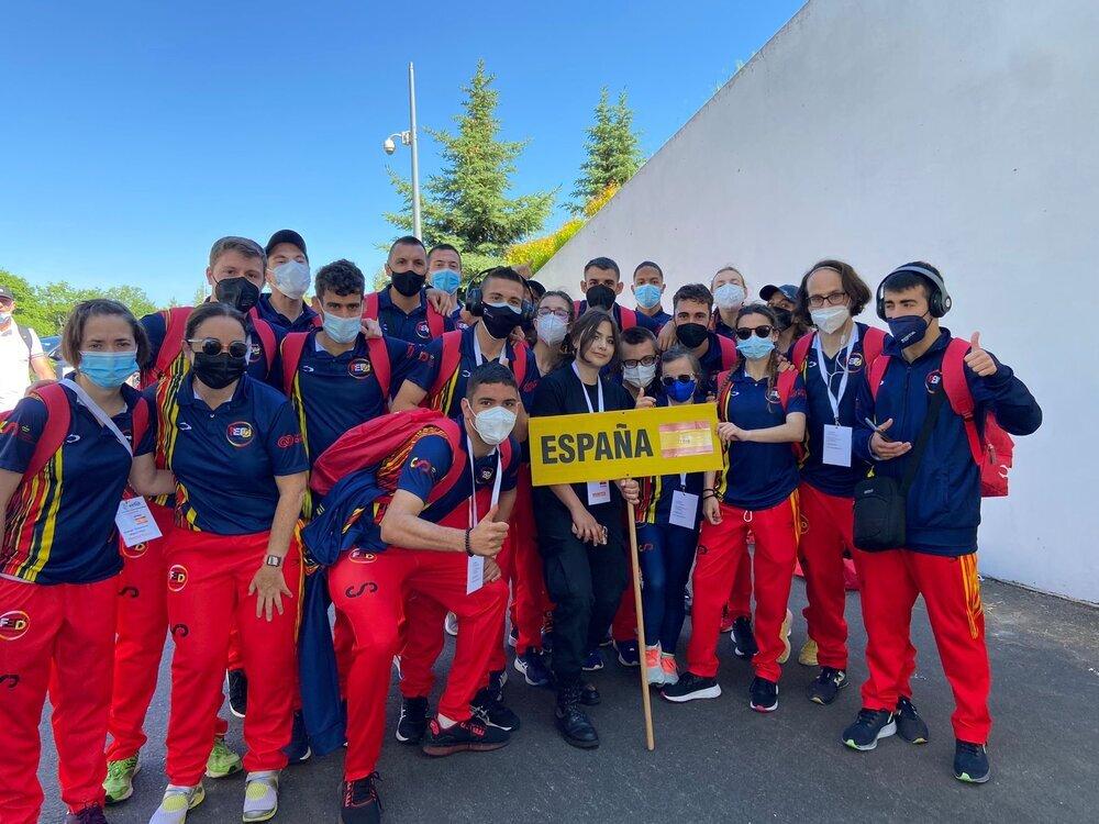 Integrantes de la selección española en esta competición.